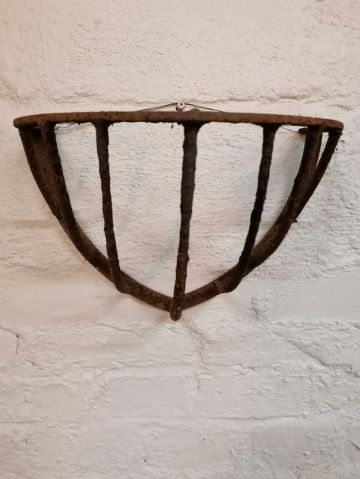 Cast Iron Hay Feeder