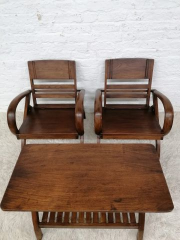 Colonial Teak Furniture Set