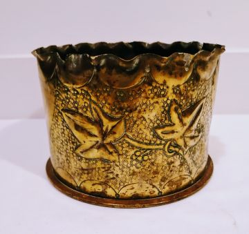 Rare WWI Trench Art Planter