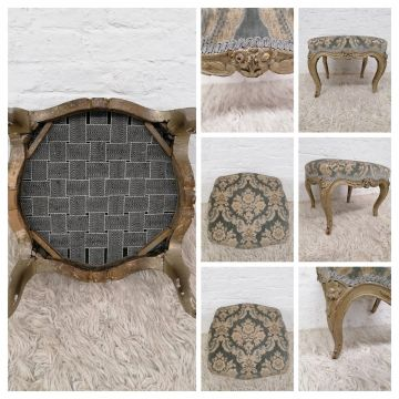 Rococo Style Foot Stool