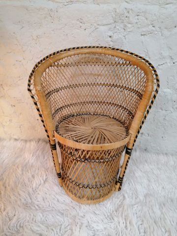 Wicker Chair for Toys and Toddlers