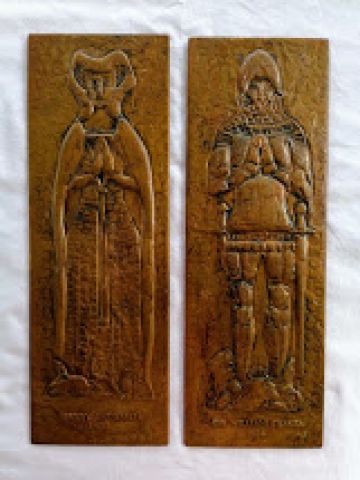 William & Mary Copper Reliefs
